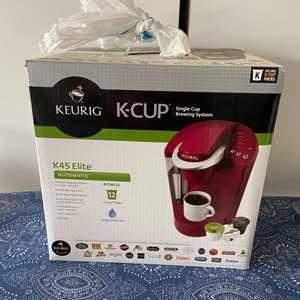 Lot # 39 New in Box Keurig K-Cup K45 Elite