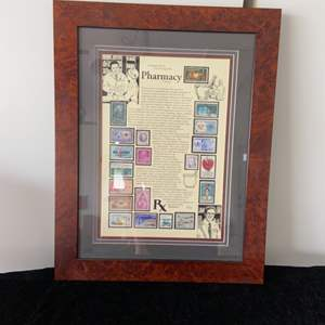 Lot # 49 Pharmacy Stamp Set Signed & Numbered