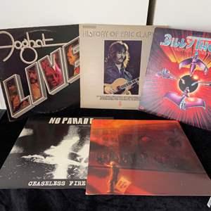 Lot # 57 Clapton, Foghat & More Records
