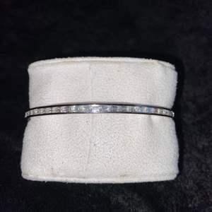 Lot # 73 Beautiful Sterling Silver Bracelet Marked