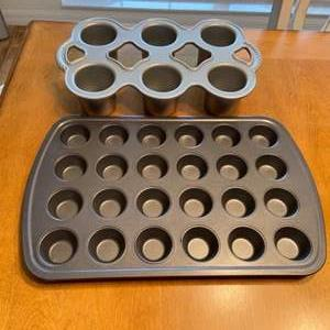 Lot # 81 Baking Tins  (Mini Muffins & NordicWare Popovers)