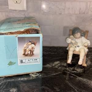 Lot # 84 Vintage Lladro NAPTIME (retired) #5448 - PRISTINE w/ Original Box