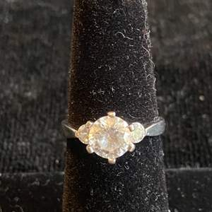 Lot # 122 Sterling Silver Ring Sz 6