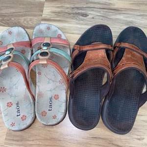 Lot # 158 Women's Sandals Sz 9