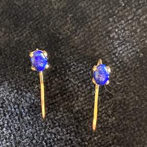 Lot # 208 Gorgeous Vintage Conrad 14K Gold Earrings TW 1.0g Signed