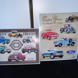 Lot # 236 Ford Truck Metal Signs (2)