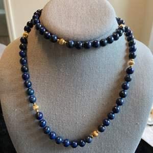Lot # 262 Pretty Lapis Necklace