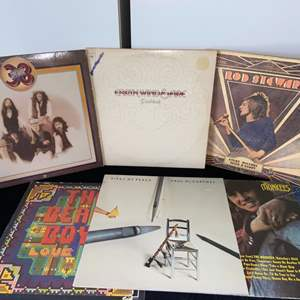 Lot # 268 Vintage Records