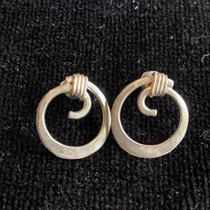 Lot # 275 Sterling Silver Earrings (2 Pair)