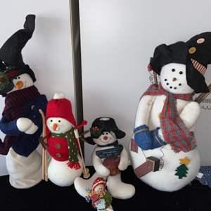 Lot # 299 Snowman Decor