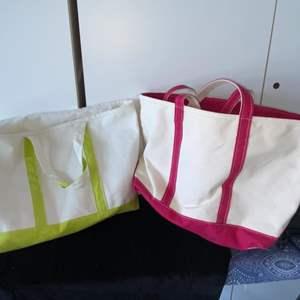 Lot # 302 LL Bean Beach Bags (2)