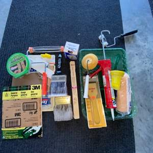 Lot # 306 Painting Supplies