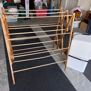 Lot # 307 Drying Rack & (2) Coolers
