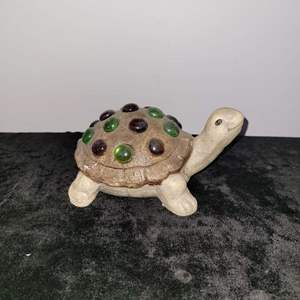 Lot # 5 Stone Turtle w/ Stones