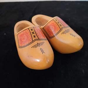 Lot # 41 Vintage Decorative Holland / Dutch Shoes