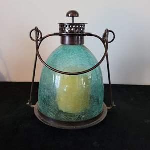 Lot # 44 Beautiful Glass Candle Holder