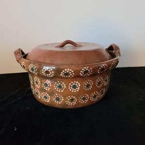 Lot # 46 Vintage Stoneware Baking Dish