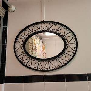 Lot # 58 Metal Mirror
