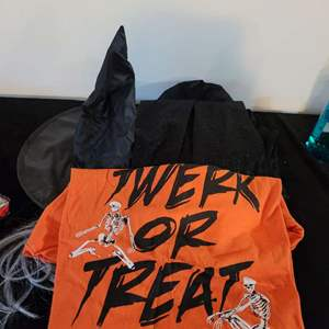 Lot # 90 Witch Hat, Shirt & Cape Halloween Costume Adult Size Large