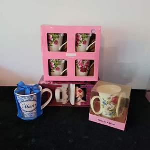 Lot # 133 (8) Coffee Cups - NIP