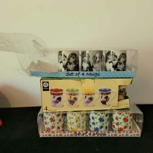 Lot # 135 (11) Assorted Coffee Cups- NIP
