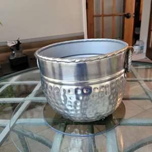 Lot # 151 Metal Plant Pot