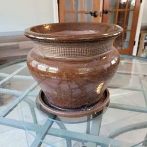 Lot # 162 Large Ceramic Planter