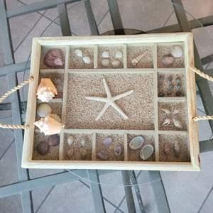 Lot # 174 Beautiful Seashell Tray