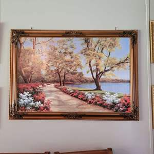 Lot # 191 Gorgeous Print on Canvas