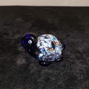Lot # 204 Murano Style Blown Glass Turtle