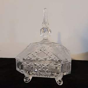 Lot # 216 Crystal Candy Dish
