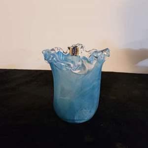 Lot # 222 Murano Glass Vase