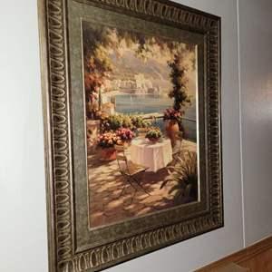 """Lot # 236 Lovely Large Framed Print 33"""" X 37"""""""