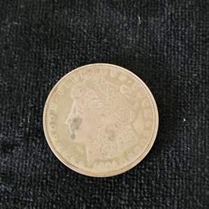 Lot # 243 1921 Morgan Silver Dollar