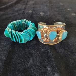 Lot # 248 (2) Gorgeous Bracelets