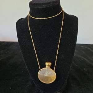 Lot # 254 Vintage Perfume Holder Necklace