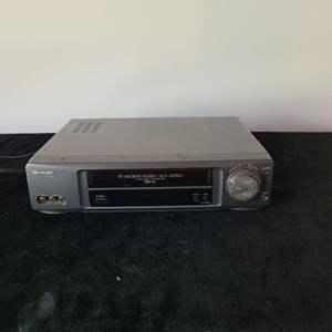 Lot # 260 Sharp VCR VC-H954U