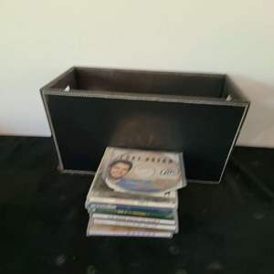 Lot # 277 Assorted CDs & Storage Bin