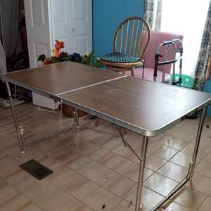 Lot # 287 Vintage Folding Table