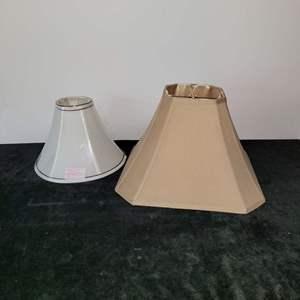 Lot # 294 (2) Lampshades
