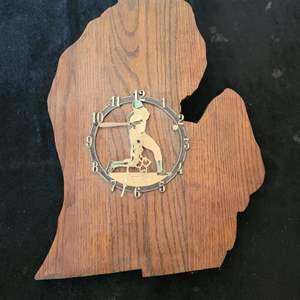 Lot # 303 Vintage Baseball Clock