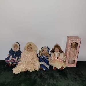 Lot # 306 Vintage Dolls