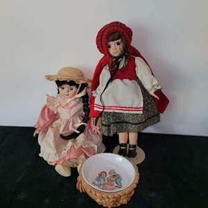 Lot # 308 Vintage Dolls