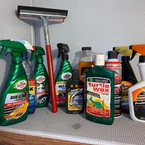 Lot # 313 Car Cleaning Supplies