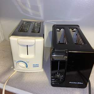 Lot # 321 Set of 2 Wide Slot Toasters