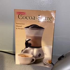 Lot # 323 Back to Basics Cocoa Latte Machine