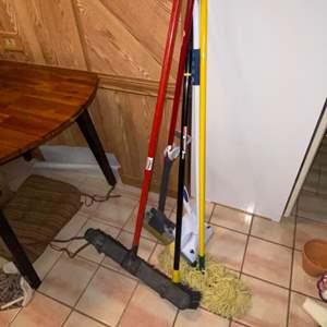 Lot # 326 Broom, Mop & More