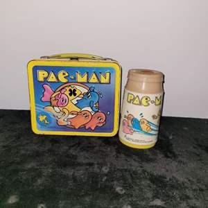 Lot # 344 1980 Pac-Man Lunch Box