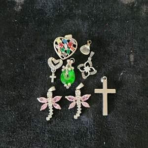 Lot # 352 (8) Necklace Pendants