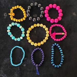 Lot # 354 (9) Stretch Bracelets